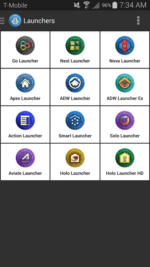 Rusty Icon Pack TSF Nova Apex Screenshot 6
