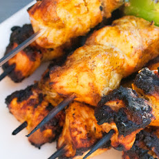 Tandoori-Spiced Turkey Skewers