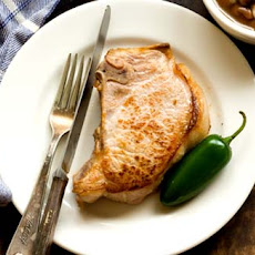 Jalapeño And Beer Brined Pork Chops