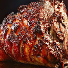 Cherry and Chili-Glazed Ham