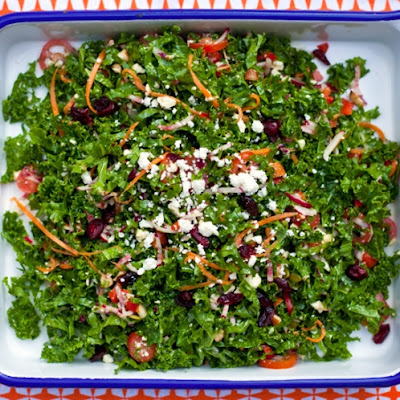 Everything But The Kitchen Sink Kale Salad