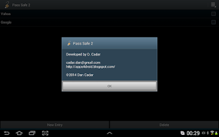 Screenshot of Pass Safe 2