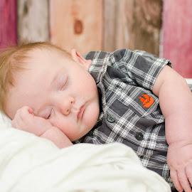 Sound Asleep by Sherri Jamieson - People Maternity ( sleeping baby, sleeping, baby, portrait, newborn )