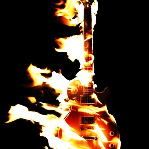 3D燃燒吉他 個人化 App LOGO-APP試玩