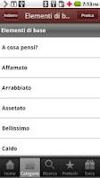 Screenshot of Italian to Thai