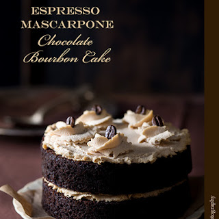 Espresso Chocolate Cake With White Chocolate Mascarpone ...