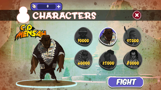 Afro Fighters - screenshot