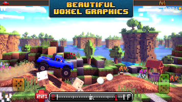 Screenshot of Blocky Roads