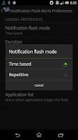 Screenshot of Flash Light Alerts