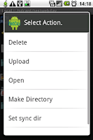 Screenshot of WebDavDroid Lite (Free)