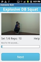 Screenshot of Awesome Butt Workout