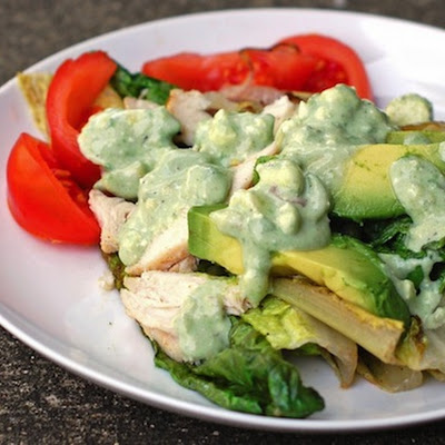 Avocado Blue Cheese Dressing