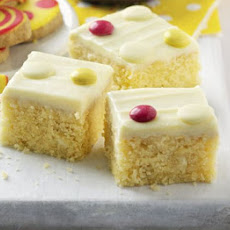 White Chocolate Spotty Cake