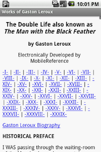 Works of Gaston Leroux - screenshot