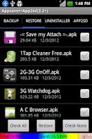 Screenshot of Appsaver Apk