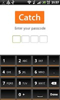 Screenshot of Orange Slate HD Keyboard Theme