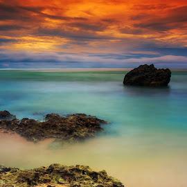 my rainbow's cake by Uul Setya - Landscapes Sunsets & Sunrises