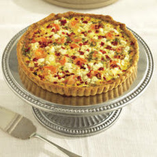 Shrimp and Feta Cheese Quiche