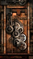 Screenshot of Steampunk Live Wallpaper Gears