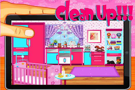Download Baby Rooms Cleaning Game APK On PC Download Android APK GAMES Amp