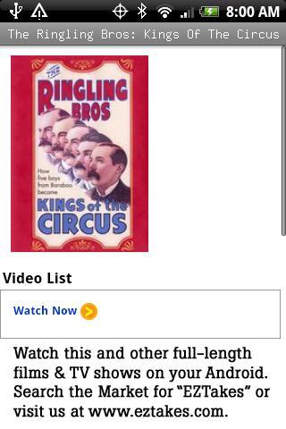 Ringling Bros: Kings Of Circus