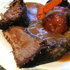 Sauerbraten in Crock Pot