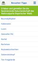 Screenshot of Nationalpark Bayerischer Wald