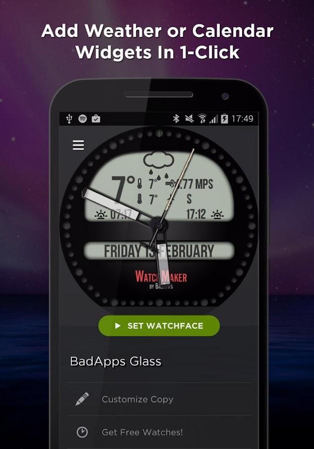 WatchMaker Premium Watch Face Screenshot 4