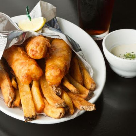No-Fuss Fish and Chips