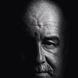 Darkness by Joe Porter - People Portraits of Men