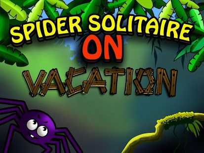 Spider Solitaire On Vacation - screenshot