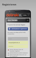 Screenshot of delinski