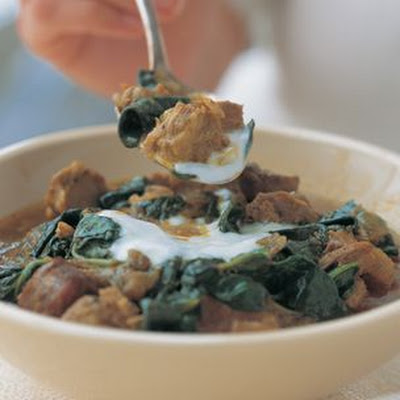 Indian Lamb & Spinach Curry