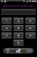 Screenshot of Application Protection