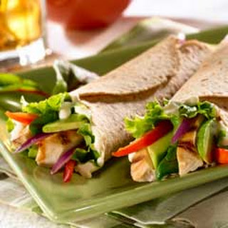 Chicken Wraps Green Pepper Recipes