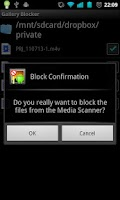 Screenshot of Gallery Blocker