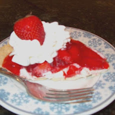 Strawberry Ribbon Pie