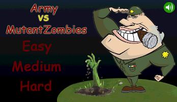 Screenshot of Army vs MutantZombies