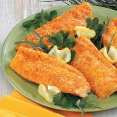 Baked Parmesan Fish (Catfish or Orange Roughy)