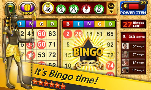 Bingo - Pharaohs Way - screenshot