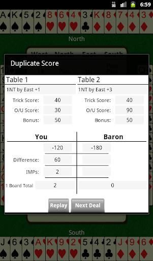 Bridge Baron - screenshot