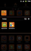 Screenshot of GO Launcher EX Theme Halloween