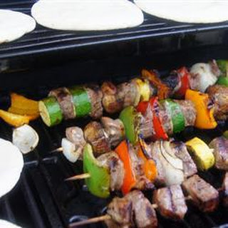 Steak And Vegetable Kebabs