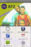 Screenshot of Life 97.3 Minnesota&Wisconsin