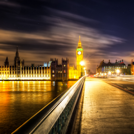 Houses of Parliament by Michael Payne - City,  Street & Park  Historic Districts (  )