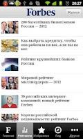 Screenshot of Forbes Russia