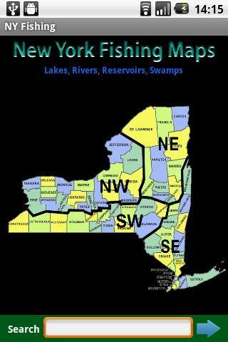 New York Fishing Maps - 14K