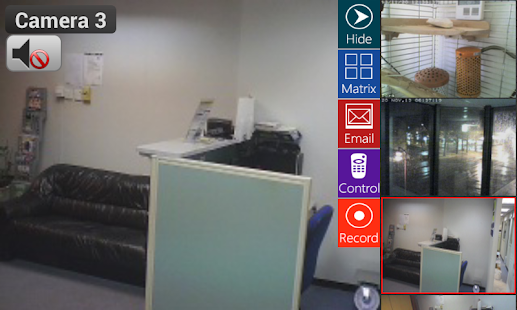 Viewer for Grandstream IP cams - screenshot