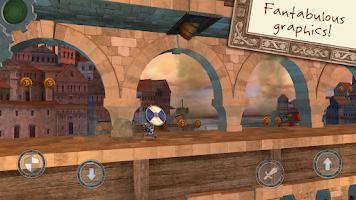 Screenshot of Wind-up Knight