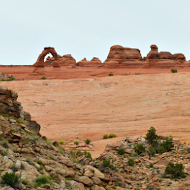 by Becky Holmes - Landscapes Deserts ( desert, arch, rock formations, arches, rock formation, rocks, deserts )